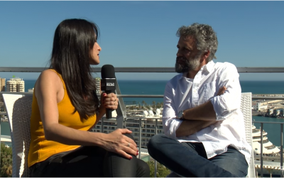 Entrevista de Pau Durà en el Festival de Málaga