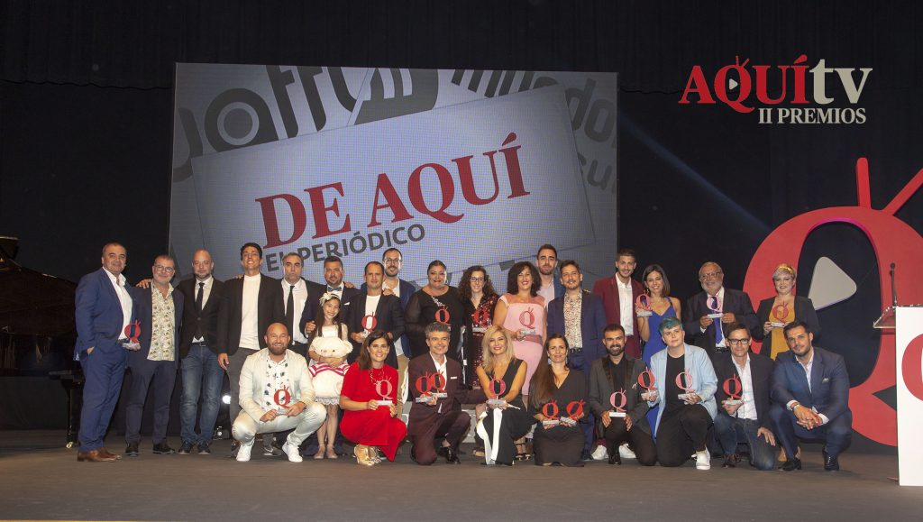 Assumptes Interns Premio el Mejor programa de À Punt en II Premis Aquí TV